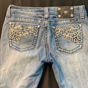 Miss me cropped capri jeans size 30